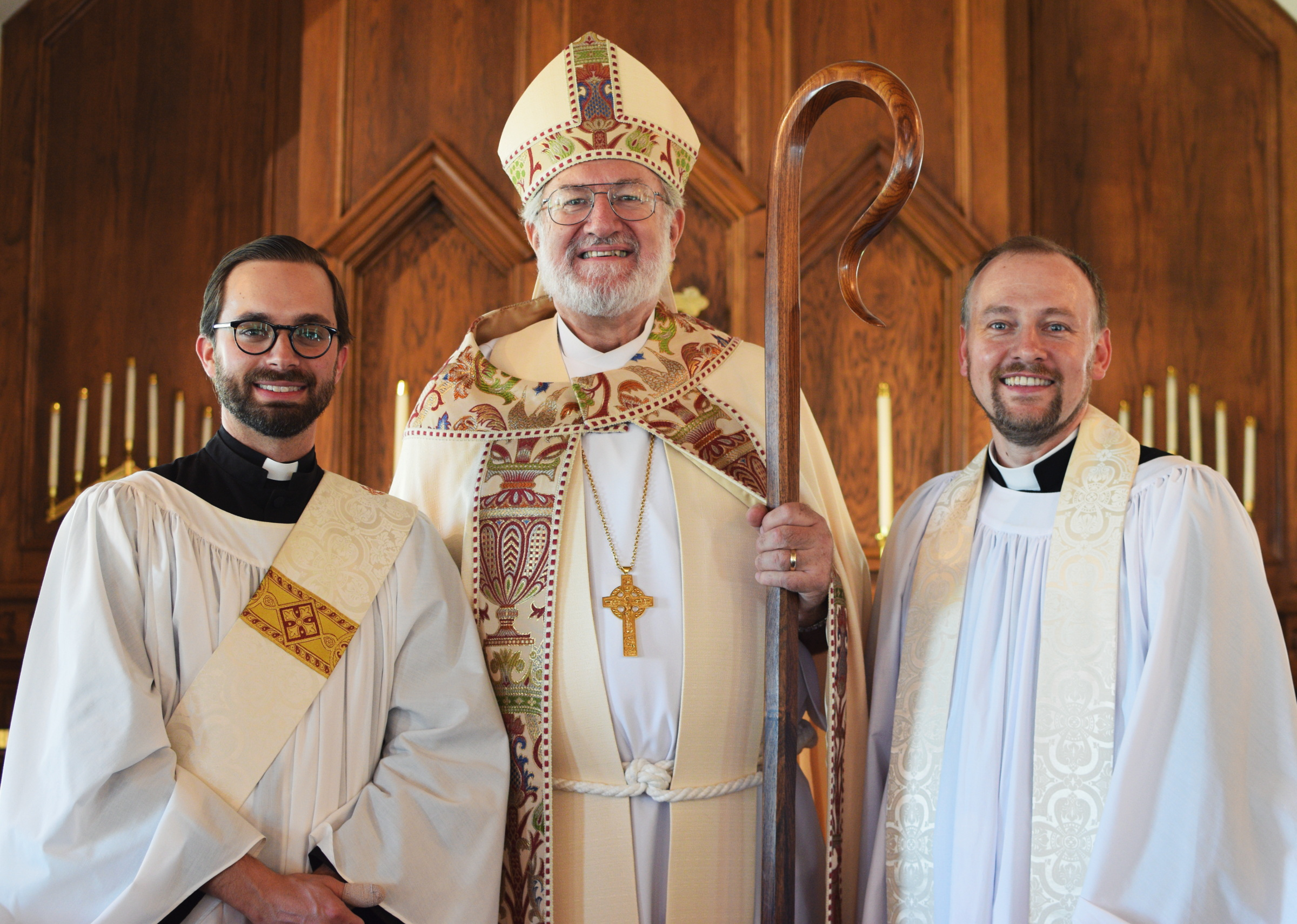 Eric Parkers ordination to diaconate
