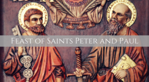 Saints Peter and Paul Holy Communion