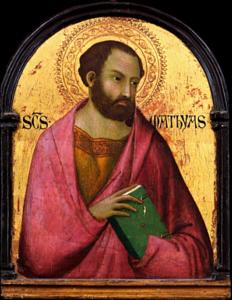 Feast of St. Matthias the Apostle